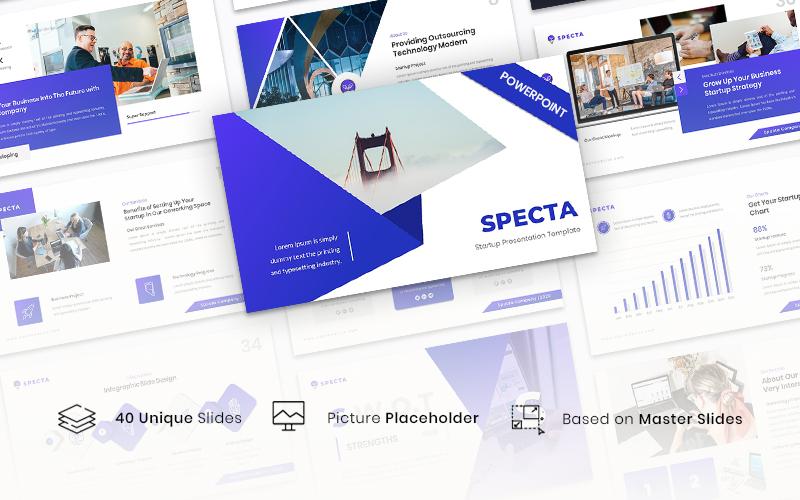 Specta - Startup PowerPoint Template