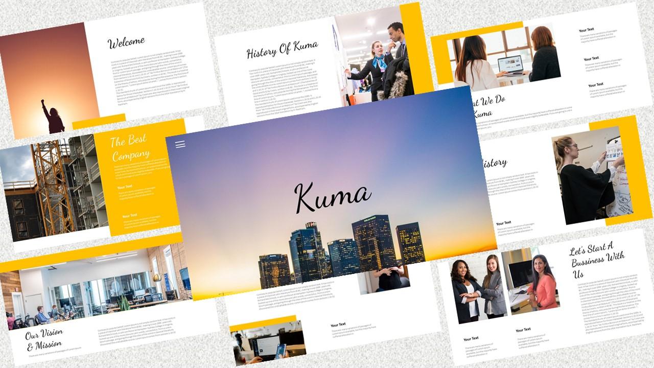 Kuma – Creative Business PowerPoint Template