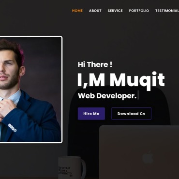 Template Page d'atterrissage #126719