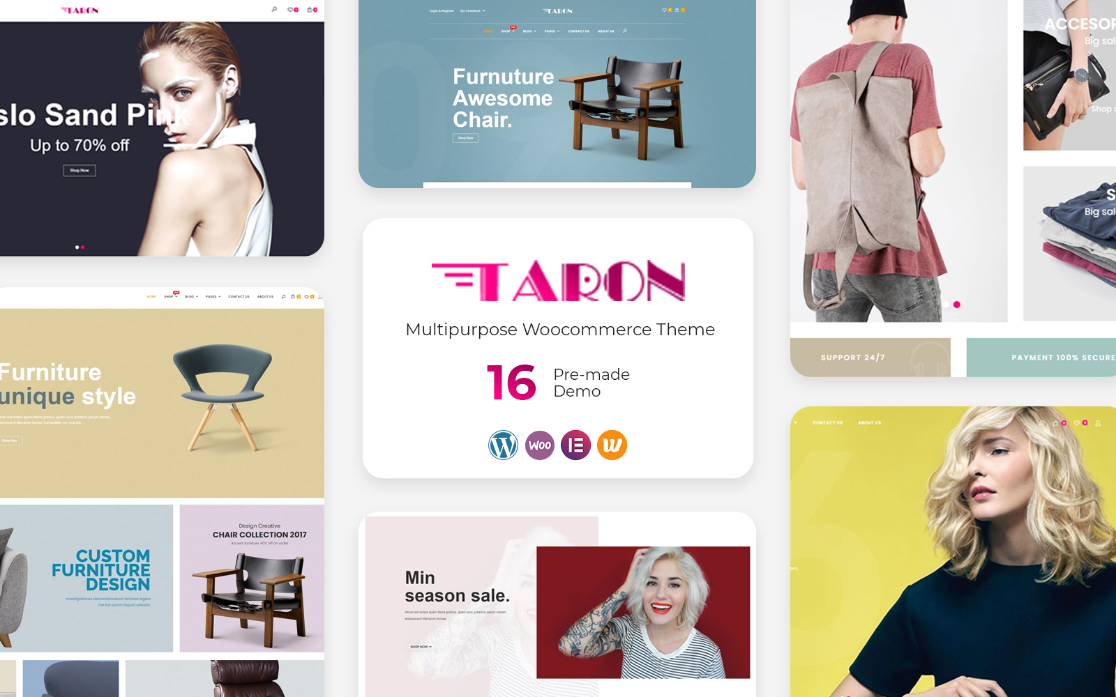 Taron - Multipurpose WooCommerce Theme