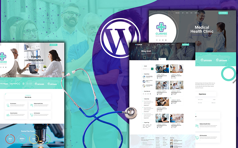 Clinvee | Doctor Medical Clinic WordPress Theme