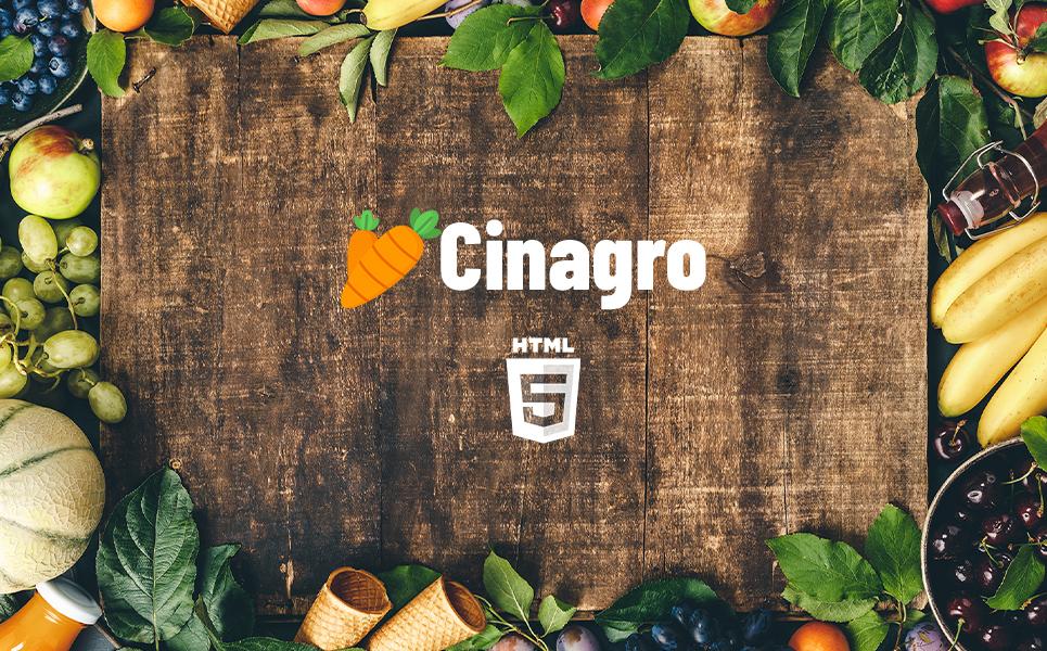 Cinagro - Fruit Template Website Template