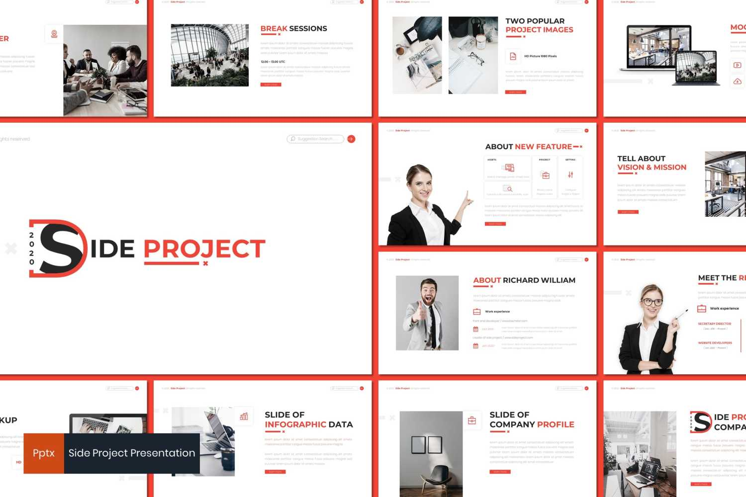 Side Project PowerPoint Template