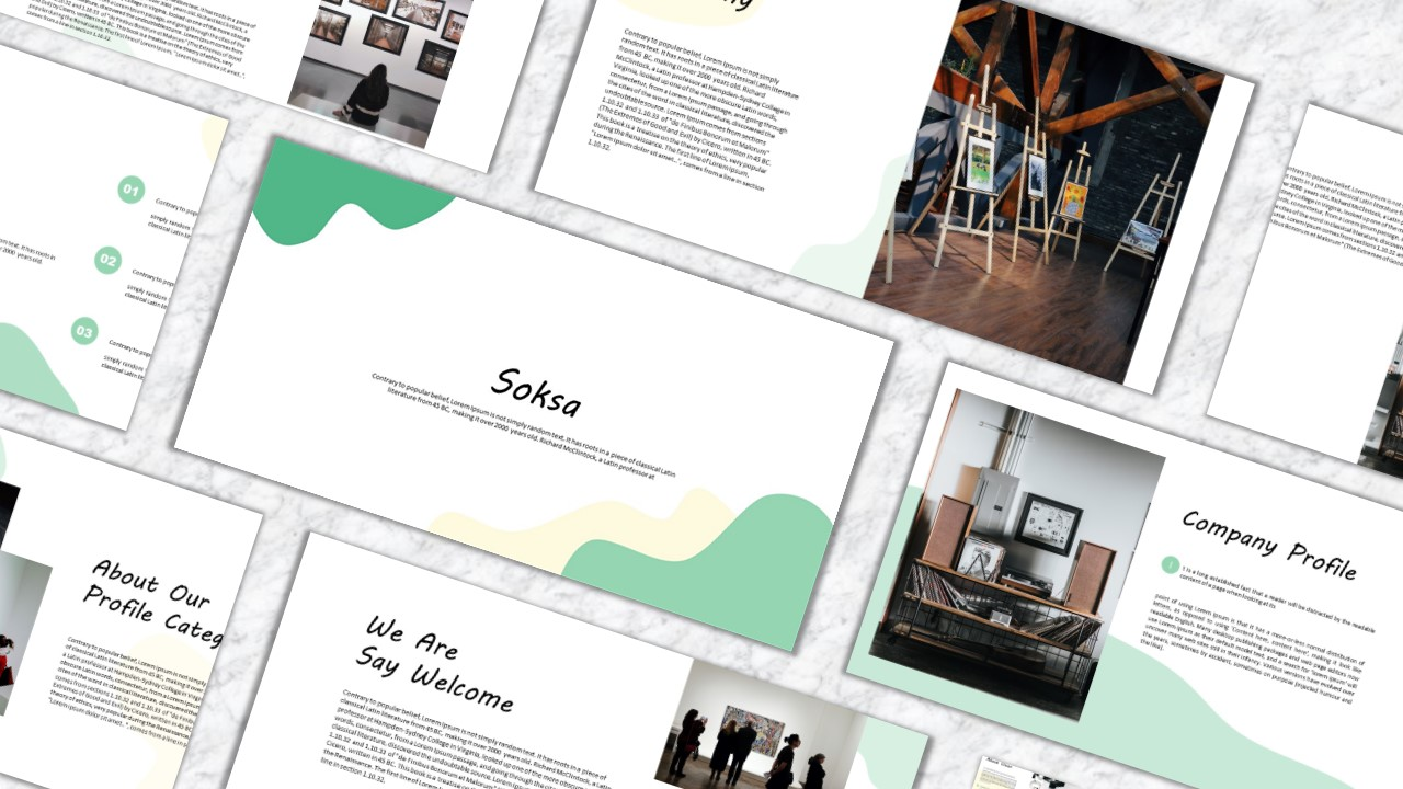 Soska PowerPoint Template