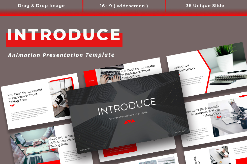 Introduce - Business PowerPoint Template