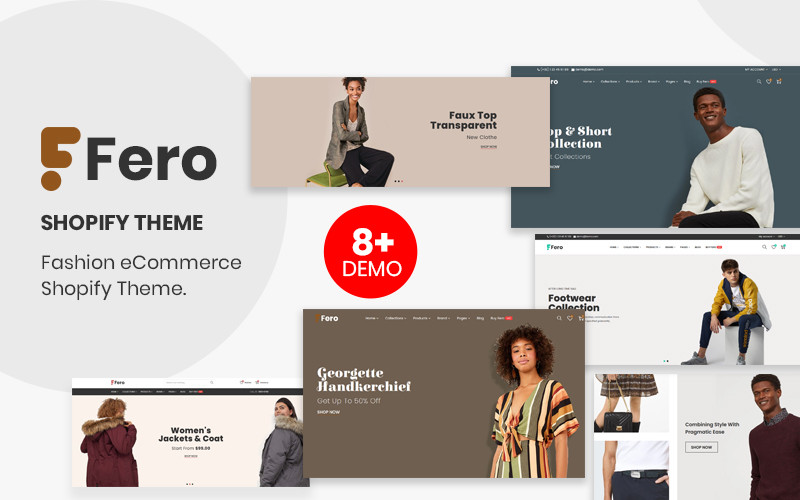 Fero - Responsive Premium Multipurpose Fashion & apparels Shopify Theme