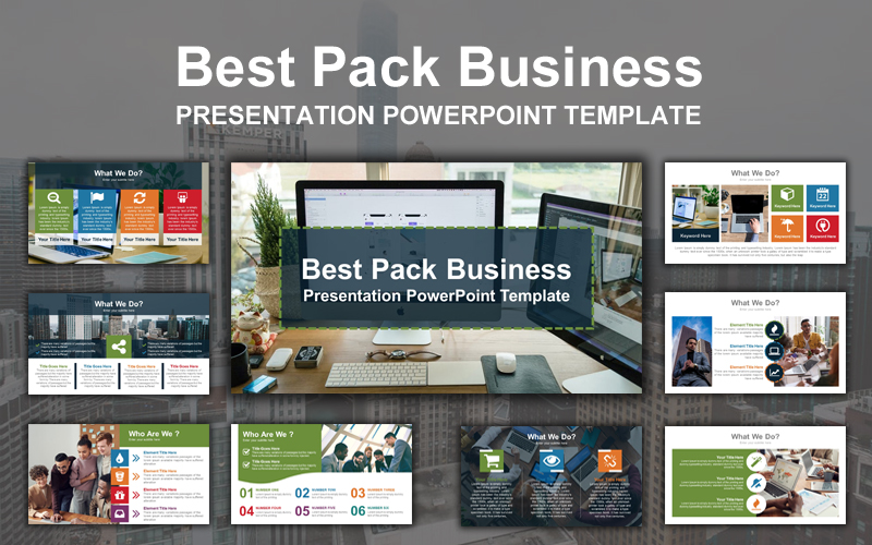 Best Pack Business PowerPoint Template