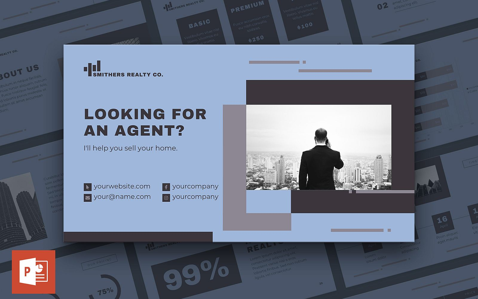 Realtor Presentation PowerPoint Template