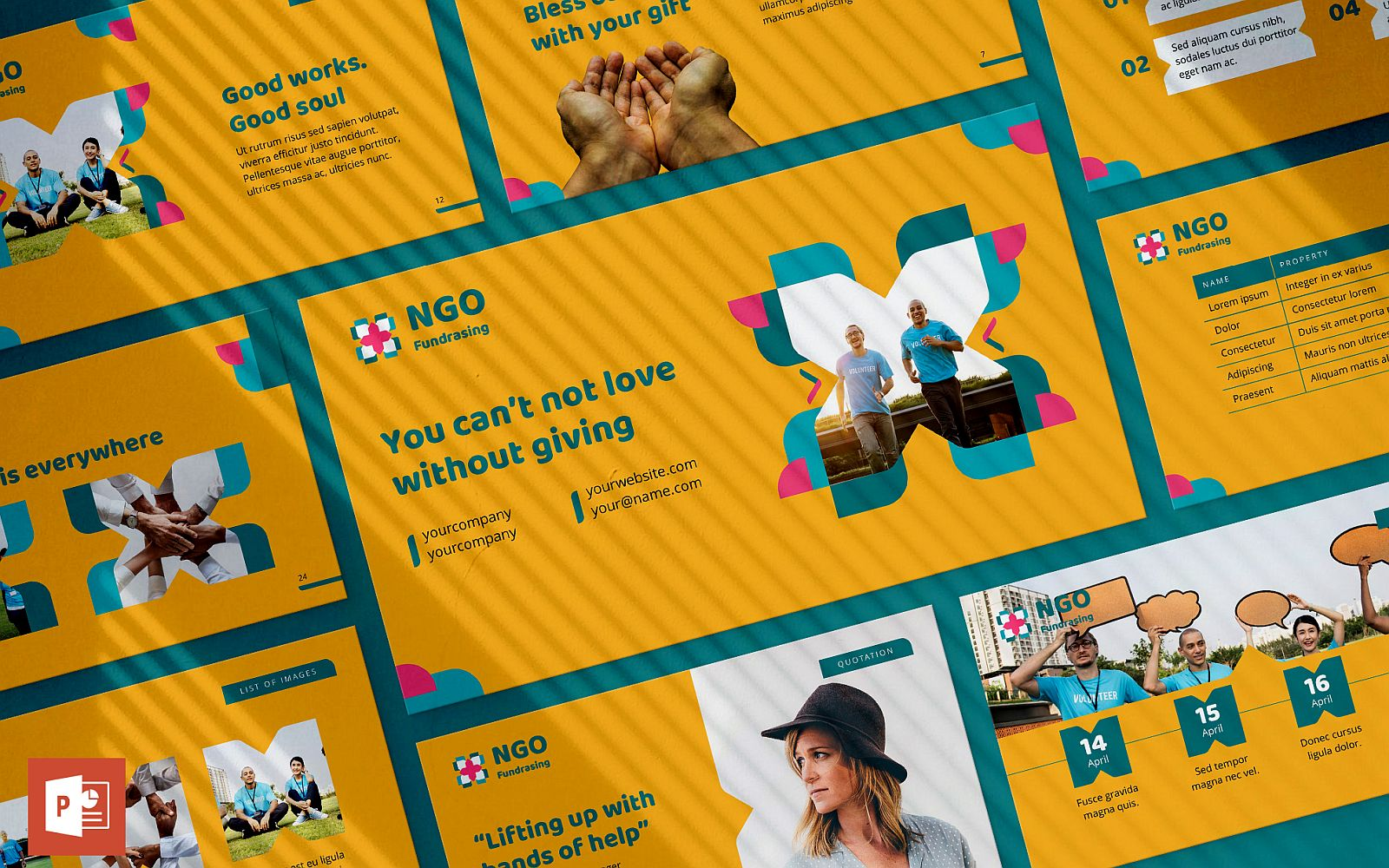 NGO Presentation PowerPoint Template