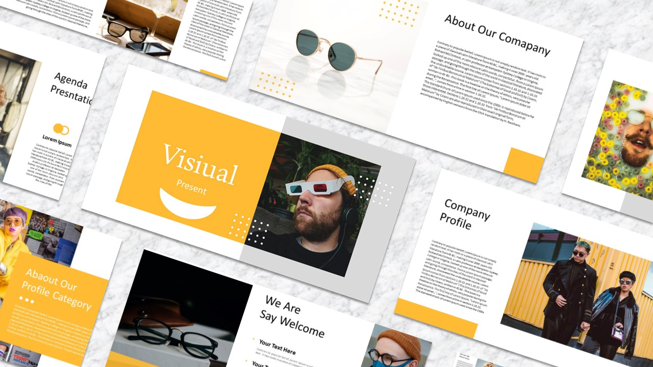 Visual PowerPoint Template
