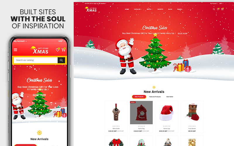 Xmas - The Christmas Gift & Decoration Shopify Theme