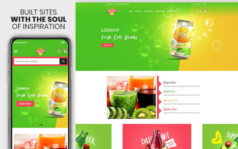 Juicyco - The Juice & Food Shopify Theme