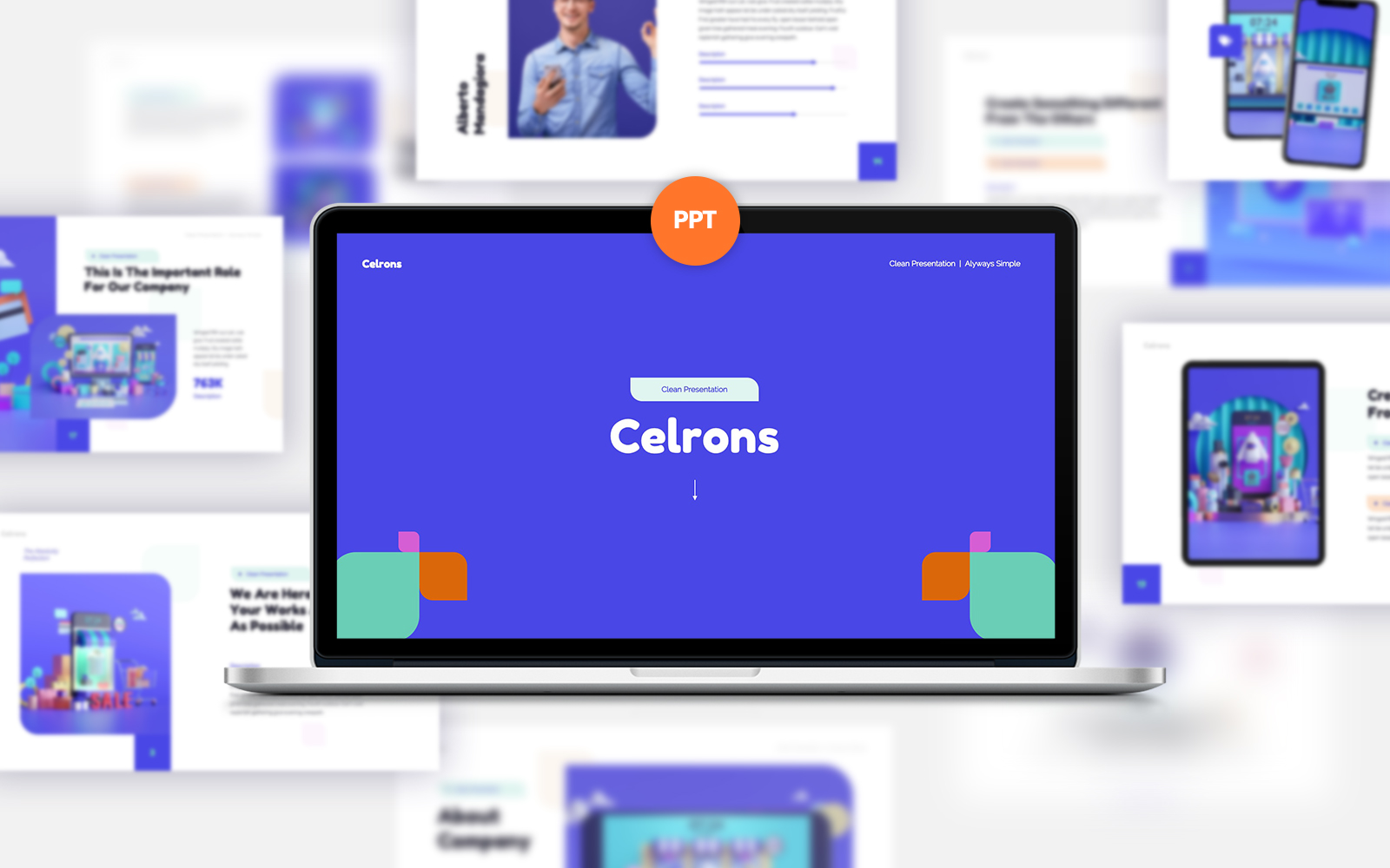 Celrons PowerPoint Template