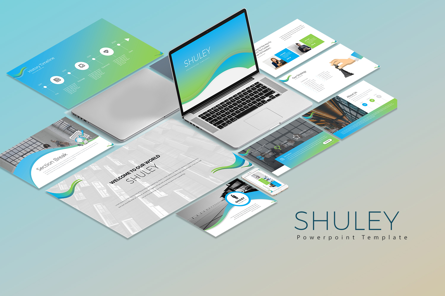 Shuley Presetation PowerPoint Template
