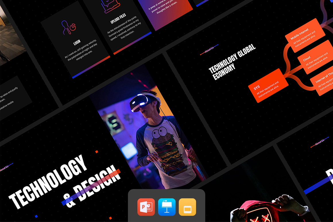 Ash Presentation - Smooth Animated Bundle PowerPoint Template