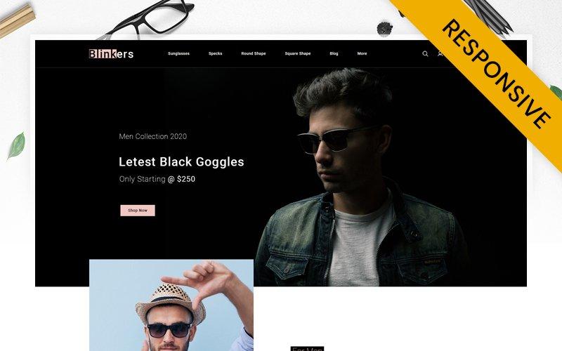 Blinkers - Goggles Store PrestaShop Theme