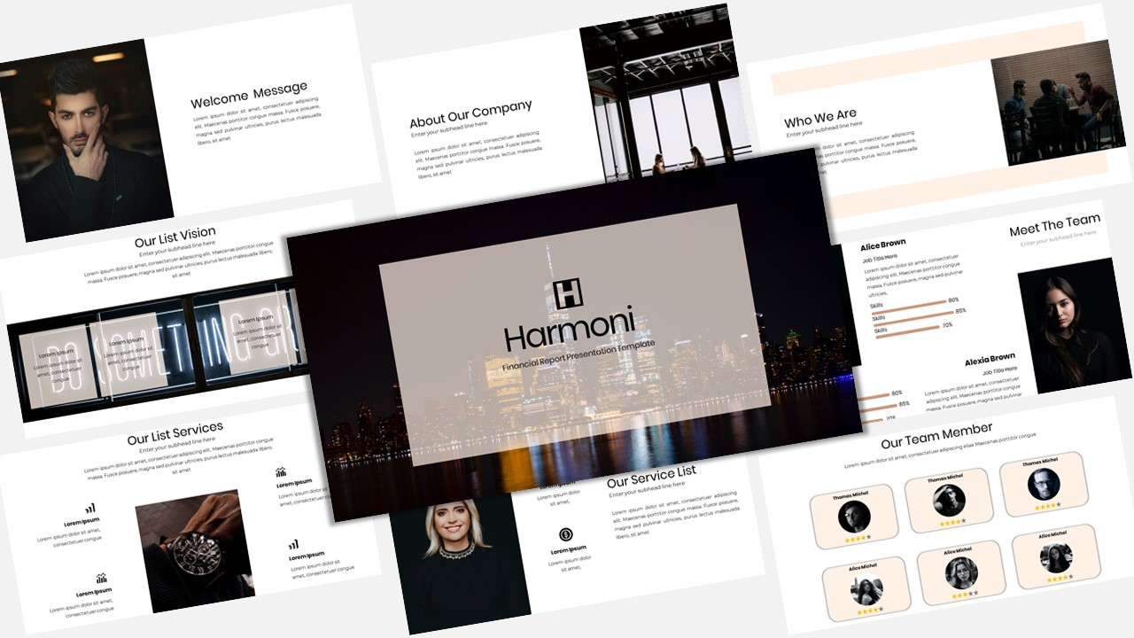Harmoni - Creative Business PowerPoint Template