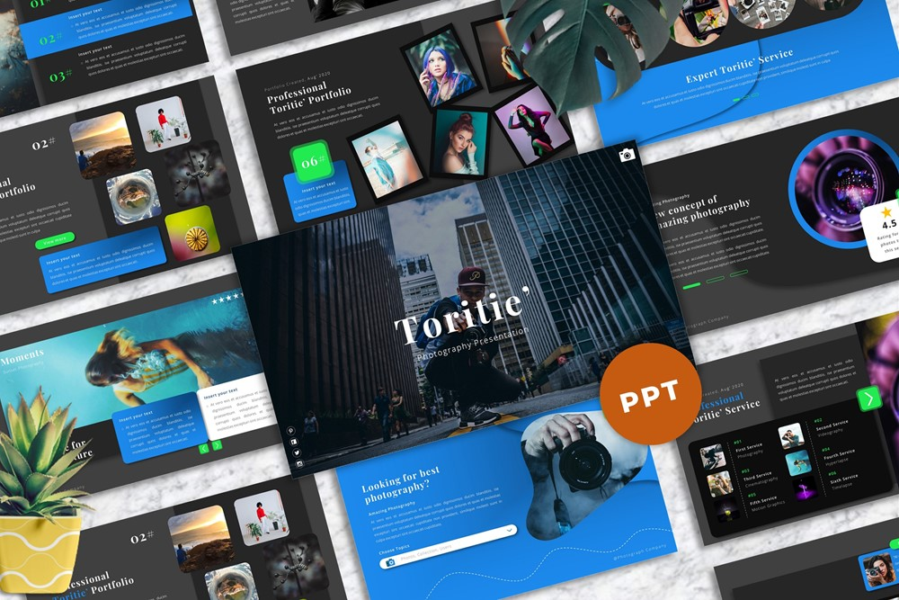 Toritie - Photography PowerPoint Template