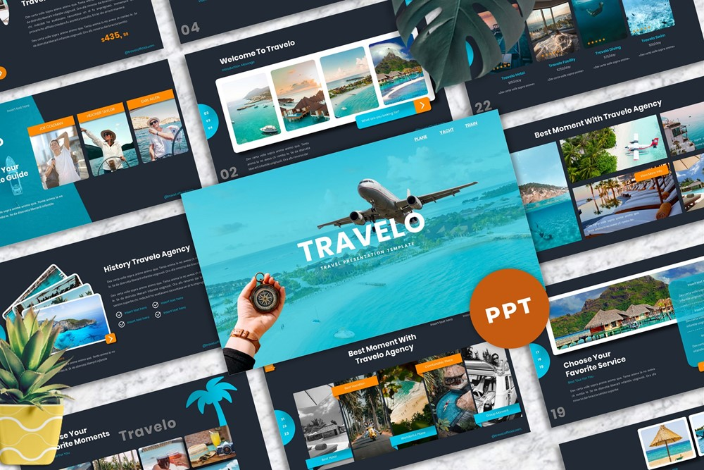 Travelo - Travel PowerPoint Template