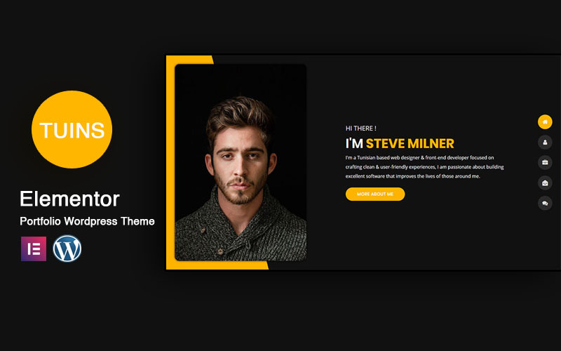 Tunis - Personal Portfolio & Resume WordPress Theme