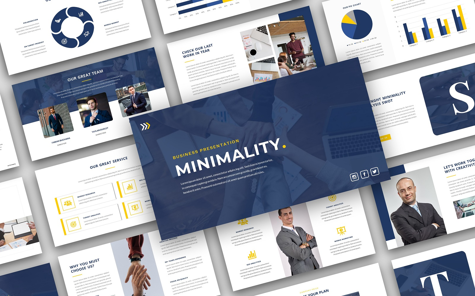 Minimality – Business Presentation PowerPoint Template