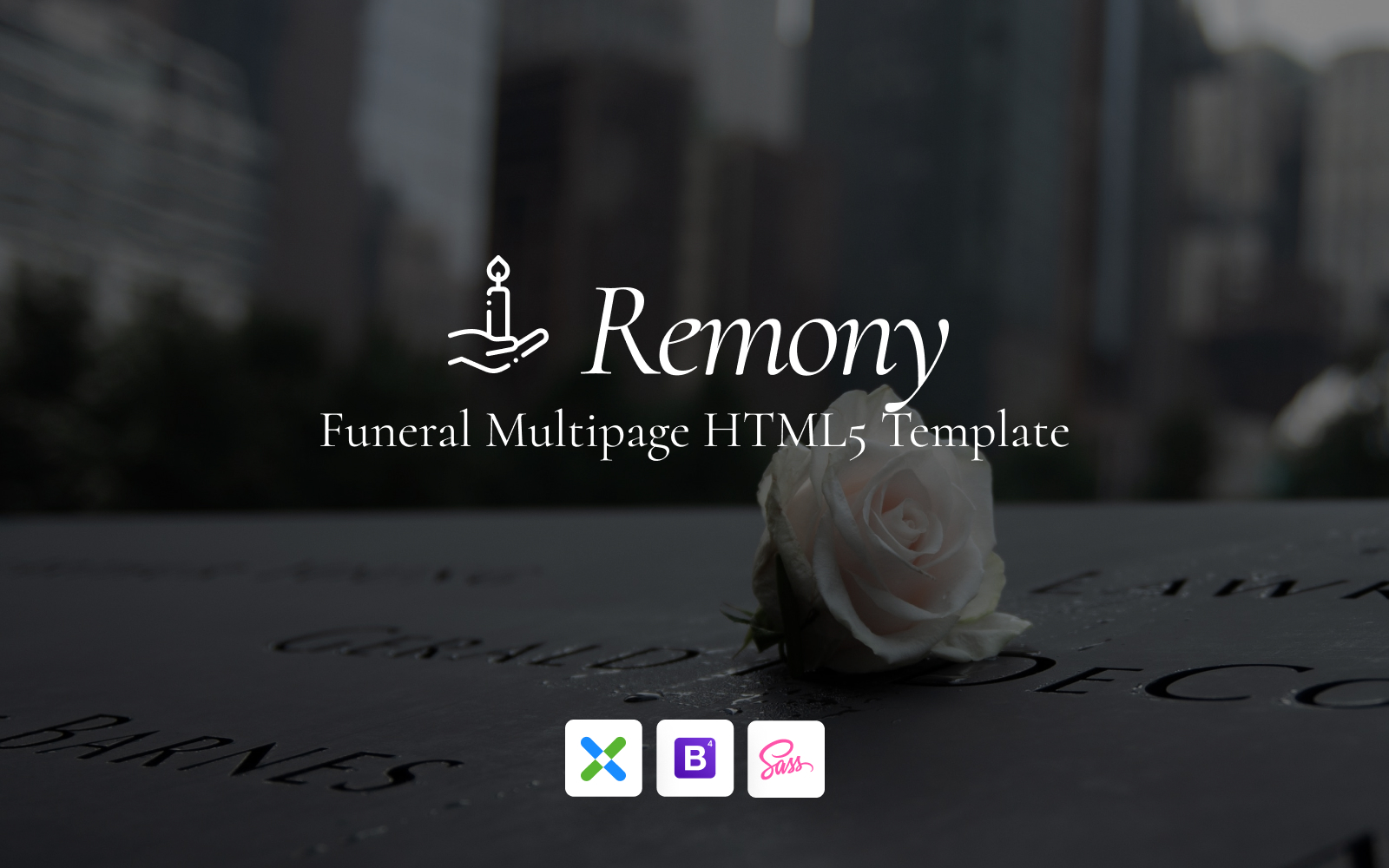 Remony - Funeral Home Responsive Website Template