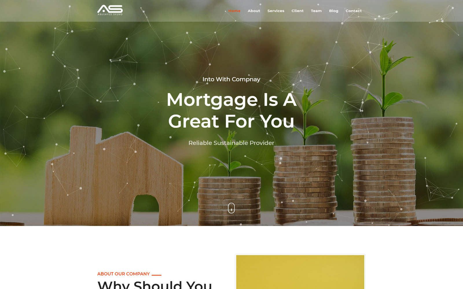 Shuvo - Real Estate Mortgage Landing Page Template