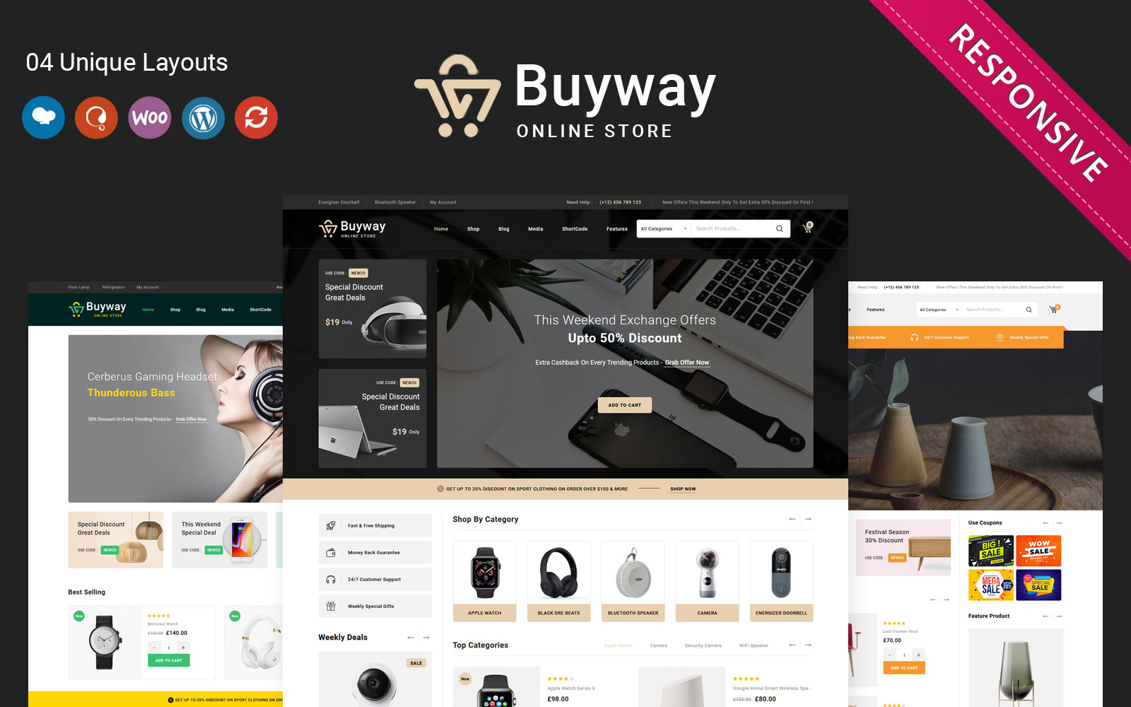 Buyway - The Multipurpose Responsive WooCommerce Theme