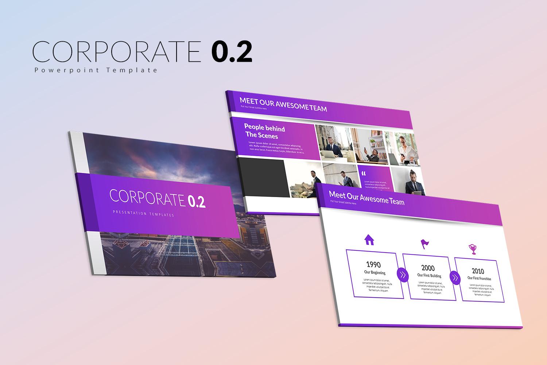 Corporate 0.2  Presentation PowerPoint Template