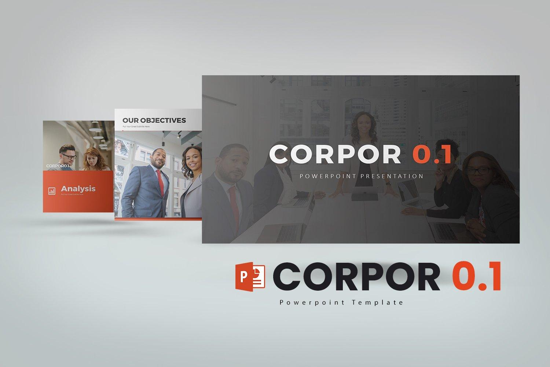 Corpor 0.1  Presentation PowerPoint Template
