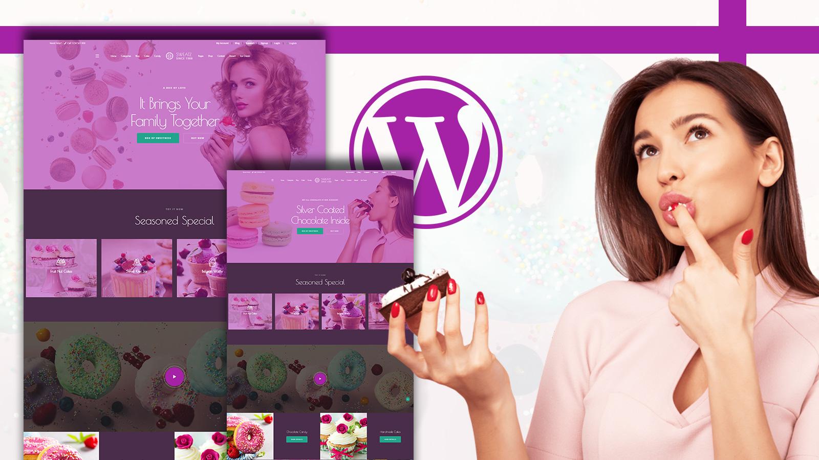Sweatz - Sweet Shop WordPress WooCommerce Theme