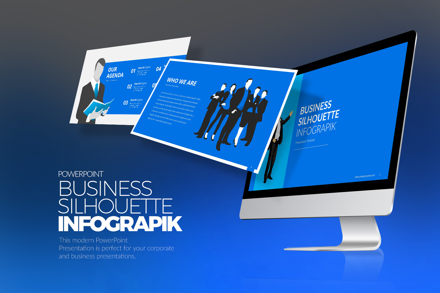 Business Infographic PPTX PowerPoint Template