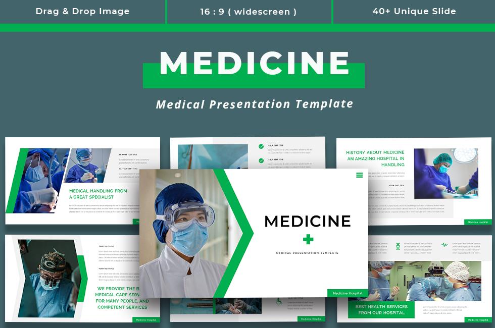 Medicine - Medical Presentation PowerPoint Template