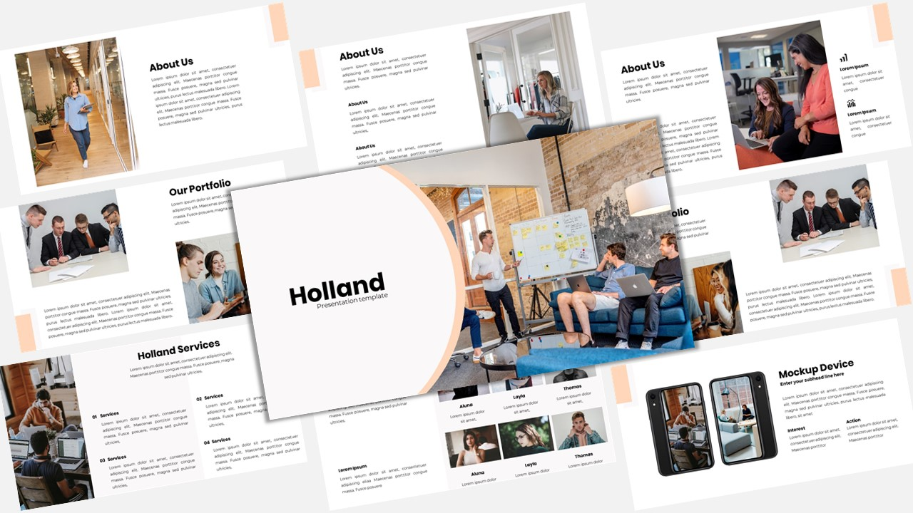 Holland - Creative Business PowerPoint Template