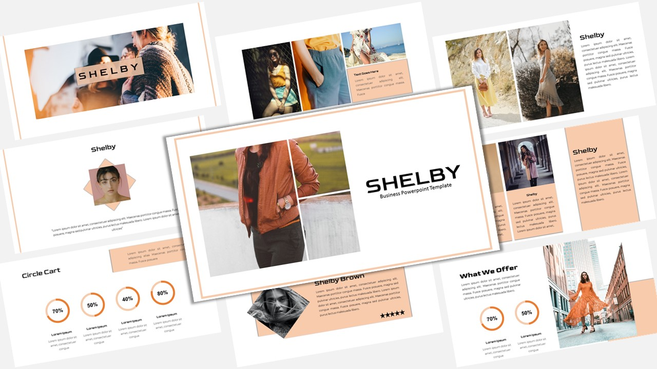 Shelby - Creative Business PowerPoint Template