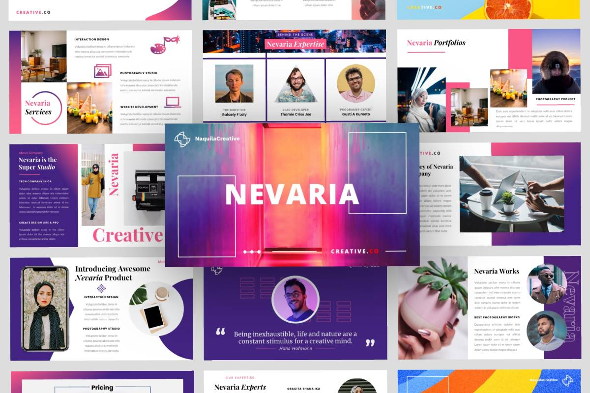 Presentation  - NEVARIA PowerPoint Template