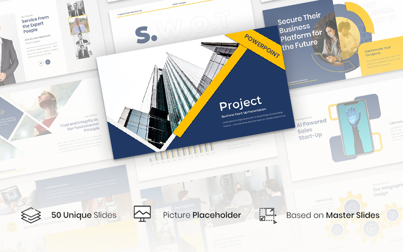 Project - Business Start-Up PowerPoint Template