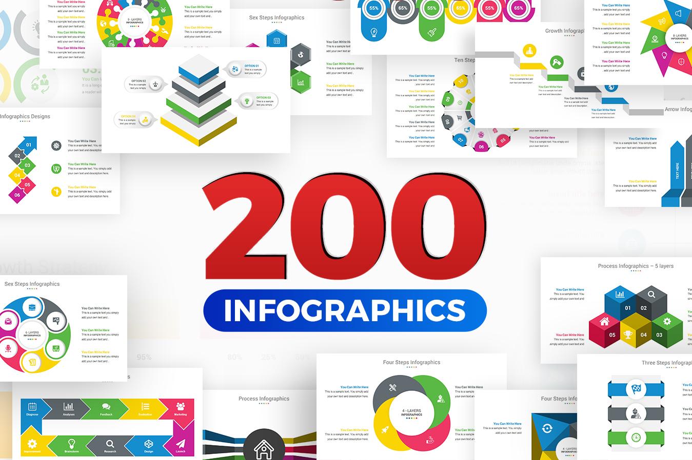 Premium Infographics PowerPoint Template