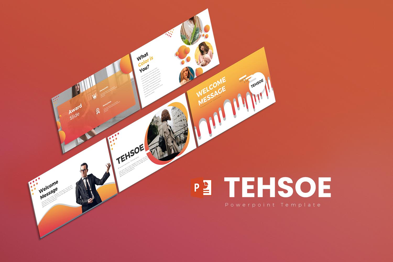 Tehsoe  Presentation PowerPoint Template