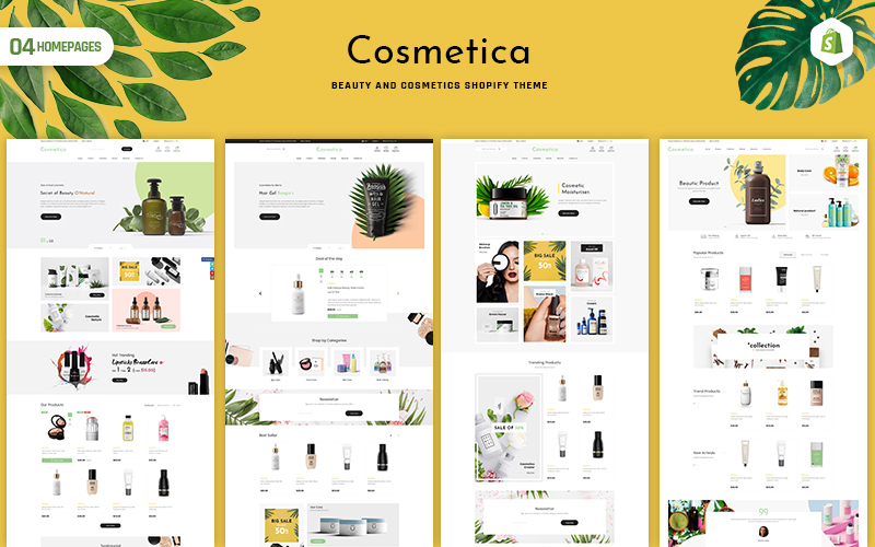 Cosmetica - Beauty & Cosmetics Shopify Theme