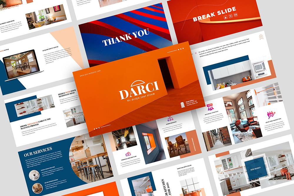 Darci – Creative Business PowerPoint Template
