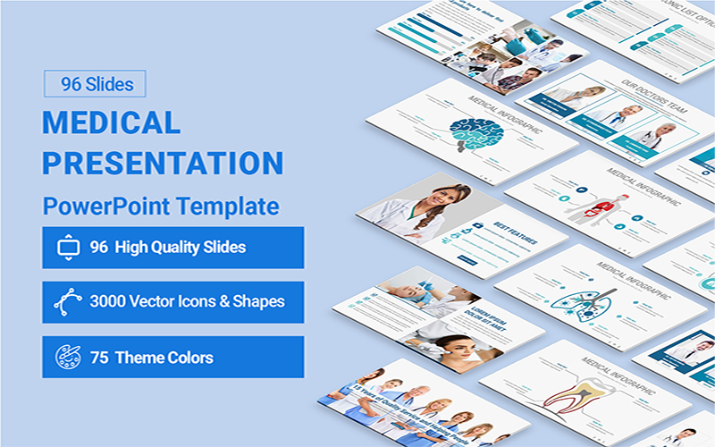 Medical Presentation PowerPoint Template