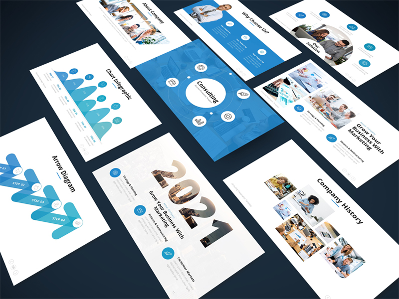 Consulting - Business PowerPoint Template
