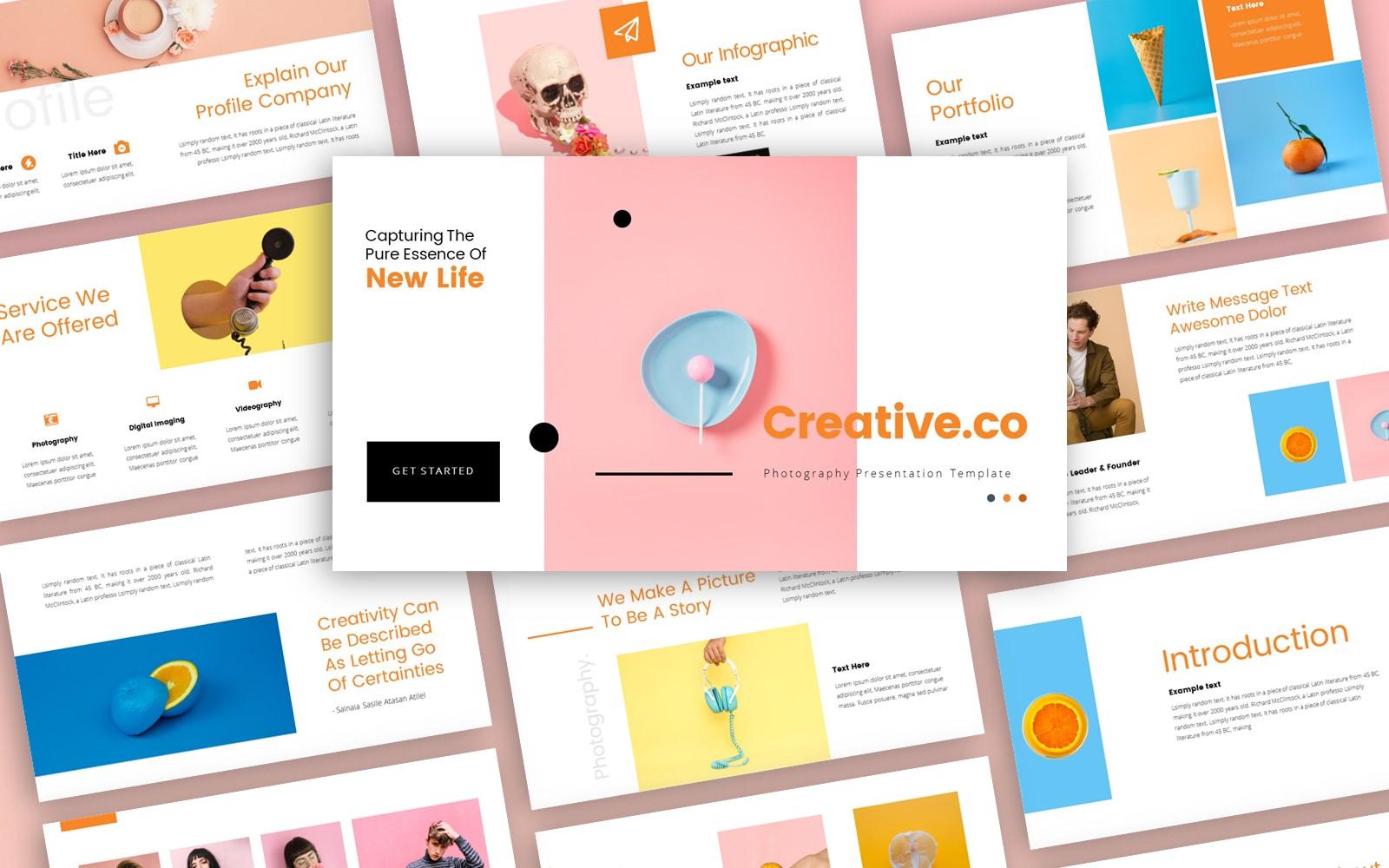 Creative.co Creative Presentation PowerPoint Template