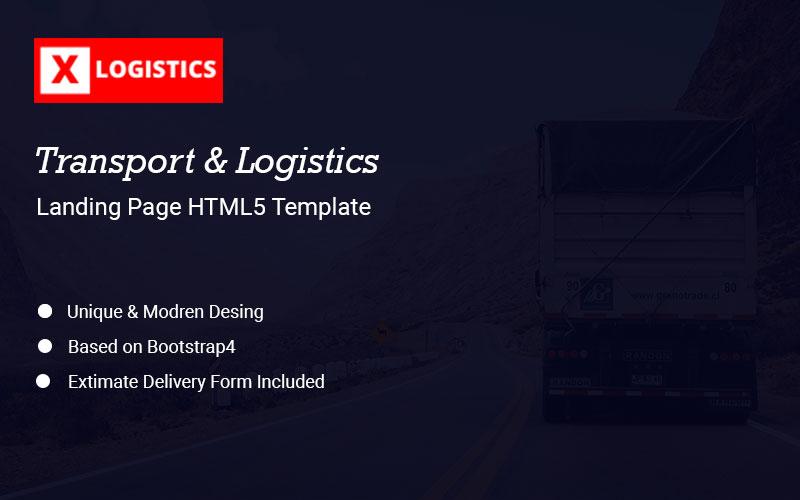 xLogistic - Transportation & Logistics Landing Page Template