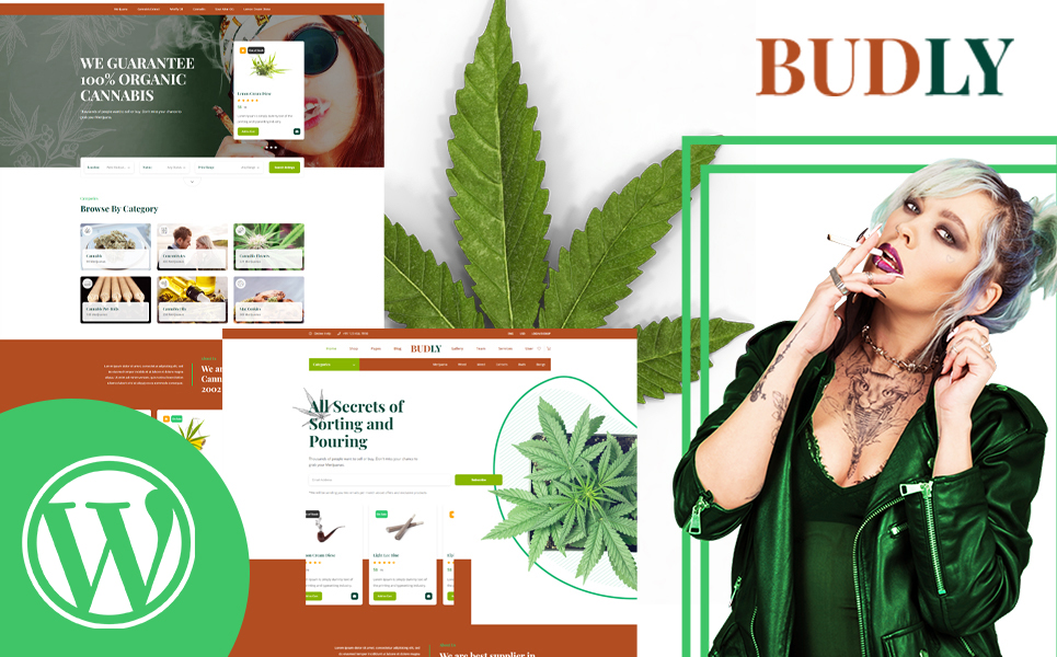 Budly - Cannabis Shop WordPress Theme