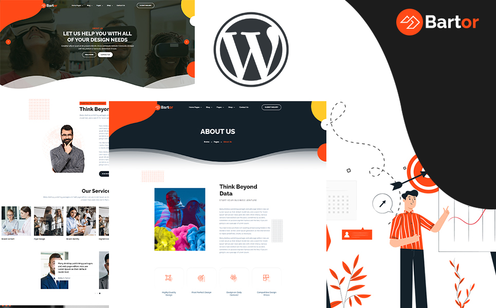 Bartor - Portfolio WordPress Theme