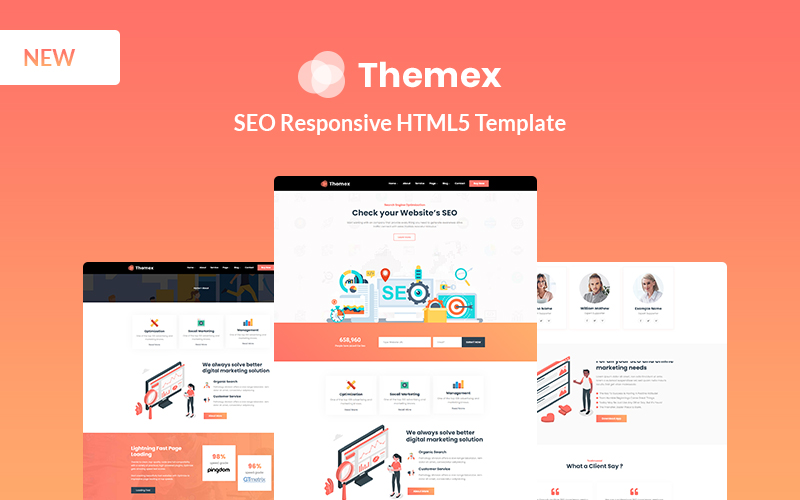 Themexp - SEO Responsive Website Template