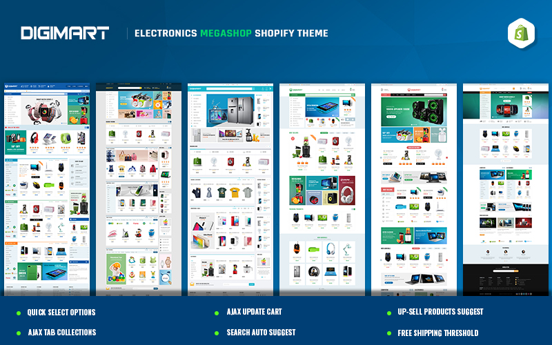 Digimart - Electronics Mega Shop Shopify Theme