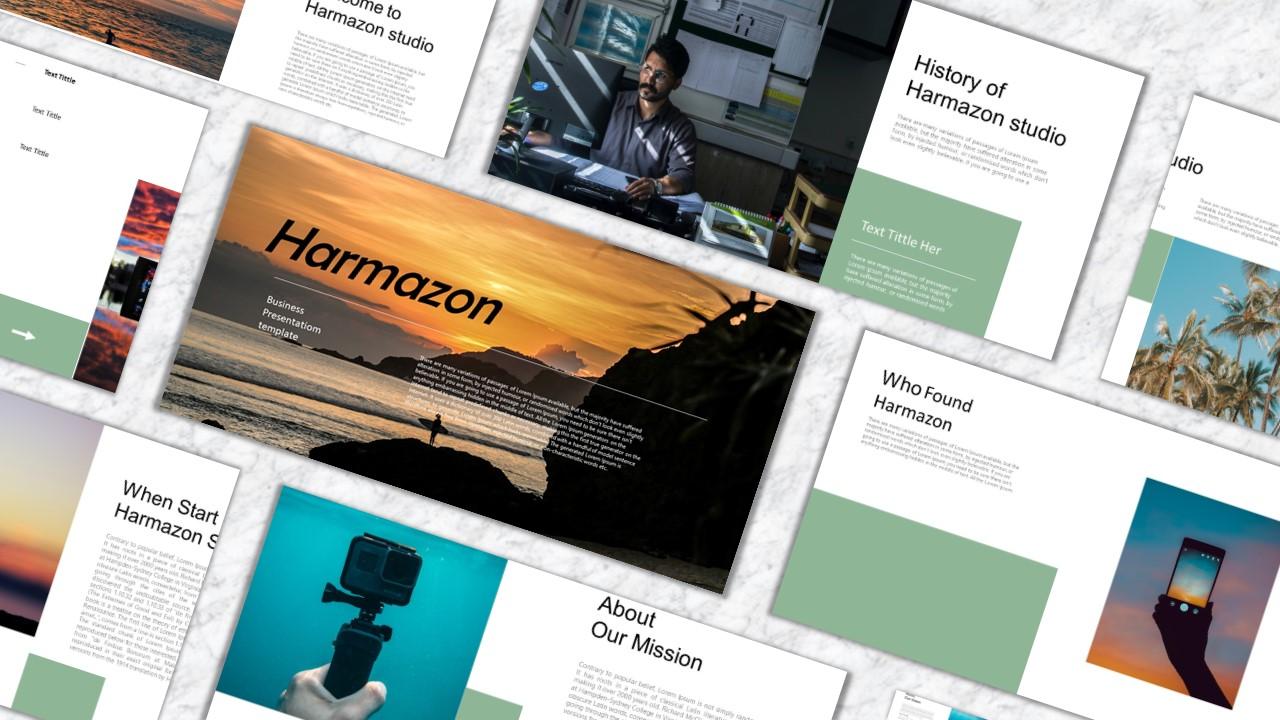 Harmazon PowerPoint Template